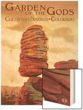 Colorado Springs, Colorado - Garden of the Gods, Balanced Rock Print by  Lantern Press