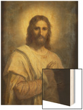 The Lord's Image Wood Print by Heinrich Hofmann