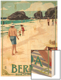Horseshoe Bay Beach Scene - Bermuda Poster by  Lantern Press