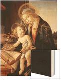 Madonna Del Libro Wood Print by Sandro Botticelli