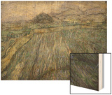 The Storm Wood Print by Vincent van Gogh