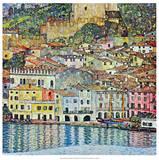 Malcena at the Gardasee, 1907 Plakaty autor Gustav Klimt