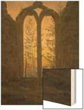 A Dreamer Prints by Caspar David Friedrich