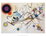 Composition VIII (1923) Poster von Wassily Kandinsky