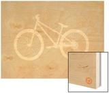 Bicycle Brown Poster Prints