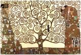Gustav Klimt - Gustav Klimt (The Tree Of Life) Art Poster Print - Reprodüksiyon