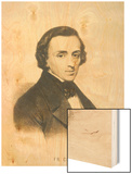 Frederic Chopin Polish Composer Wood Print