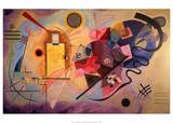 Yellow-Red-Blue (1925) Pósters por Wassily Kandinsky