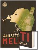 Anisetta Meletti Wood Print