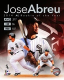 Jose Abreu 2014 American League Rookie of the Year Portrait Plus Photo