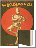 The Tin Man from The Wizard of Oz Wood Print
