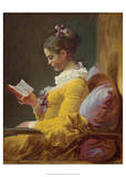 A Young Girl Reading, 1776 Posters by Jean-Honoré Fragonard