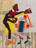 Jitter Bugs Posters by William H. Johnson
