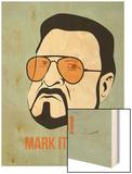 Mark it Zero Poster 1 Print by Anna Malkin