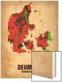 Denmark Watercolor Poster Prints