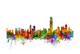 Hong Kong Skyline Photographic Print by Michael Tompsett