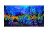 Magic Wood Giclee Print by  Ledent