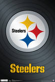 Pittsburgh Steelers Logo Nfl Sports Poster Reprodukcje