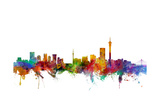 Johannesburg South Africa Skyline Photographic Print by Michael Tompsett