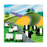 Hills and Dales Giclee Print by Nikky Corker