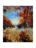 Autumn 5641 Giclee Print by  Ledent
