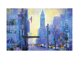 NY 34st. Giclee Print by Colin Ruffell