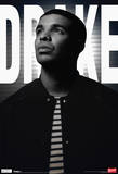 Drake Black And White Music Poster Print
