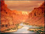 Grand Canyon at Sunset Mounted Print