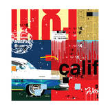 Cali Car Giclee Print by Mark Andrew Allen