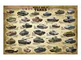 WWII Tanks Obrazy