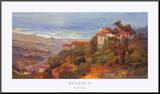 Hilltop II Mounted Print by Rick Delanty