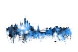 New York Skyline Art by Michael Tompsett