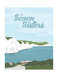 The Seven Sisters Giclee Print by Adam McNaught-Davis