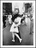 V-J Day in Times Square Mounted Print by Alfred Eisenstaedt