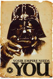 Star Wars Your Empire Needs You Movie Poster Plakater