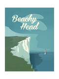 Beachy Head Giclee Print by Adam McNaught-Davis