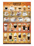 Coffee Collage Posters