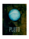 The Planet Pluto Photographic Print by Michael Tompsett