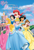 Disney Princess Castle Movie Poster Pósters