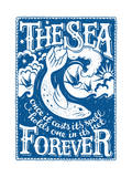 The Sea Forever Giclee Print by  Snowdon Designs
