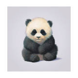Panda Giclee Print by John Butler Art