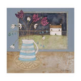 A Full Moon In Spring Giclee Print by Louise O'Hara