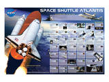 Space Shuttle Atlantis Art
