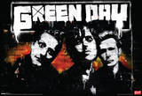 Green Day Brick Music Poster アートポスター