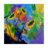 Sunflowers 7741 Photographic Print by  Ledent