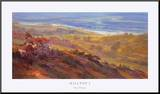 Hilltop I Mounted Print by Rick Delanty