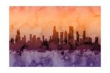 Chicago Illinois Skyline Prints by Michael Tompsett