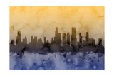Chicago Illinois Skyline Photographic Print by Michael Tompsett