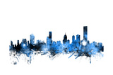 Melbourne Australia Skyline Photographic Print by Michael Tompsett