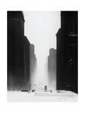 The Big City Giclee Print by David Cowden